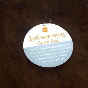 K&H Self Warming Crate Pad Mocha Brown